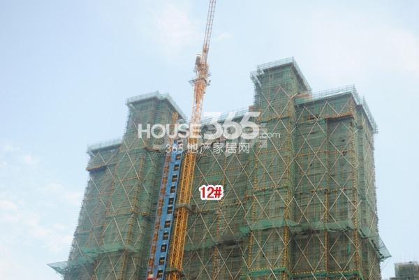 雅居乐中心广场实景图(2015.7 摄)