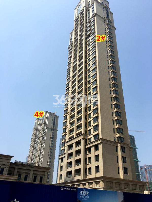 蠡湖瑞仕花园二期2#、4#楼高层工程进度实景(2018.3摄)