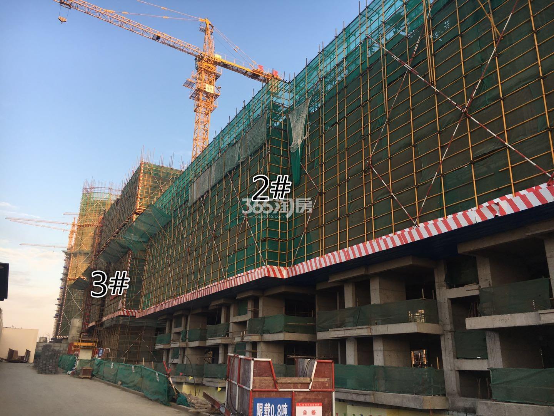 江山薈3、4号楼实景图(12.18)