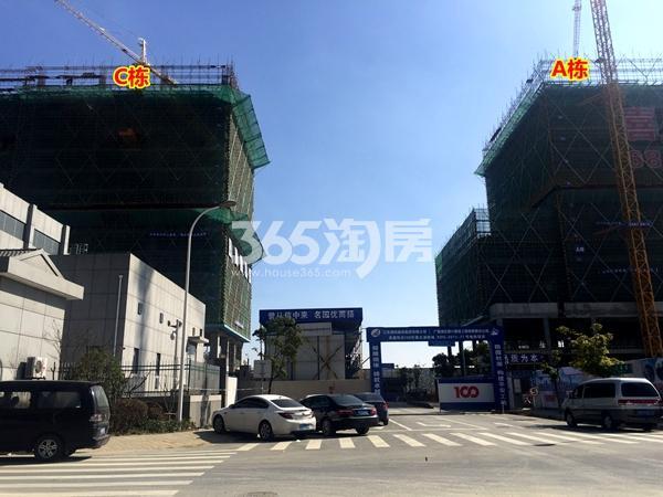 阳光100喜马拉雅A栋、C栋公寓工程进度实景(2018.3摄)