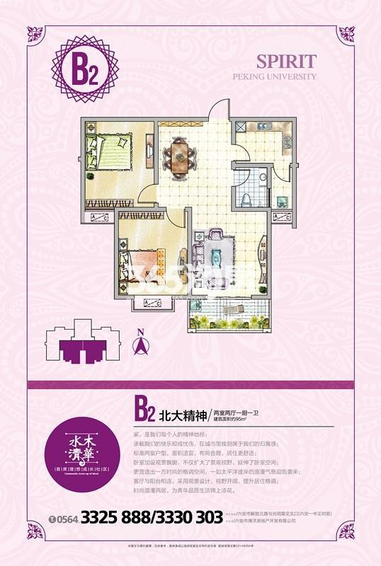 水木清华B2户型