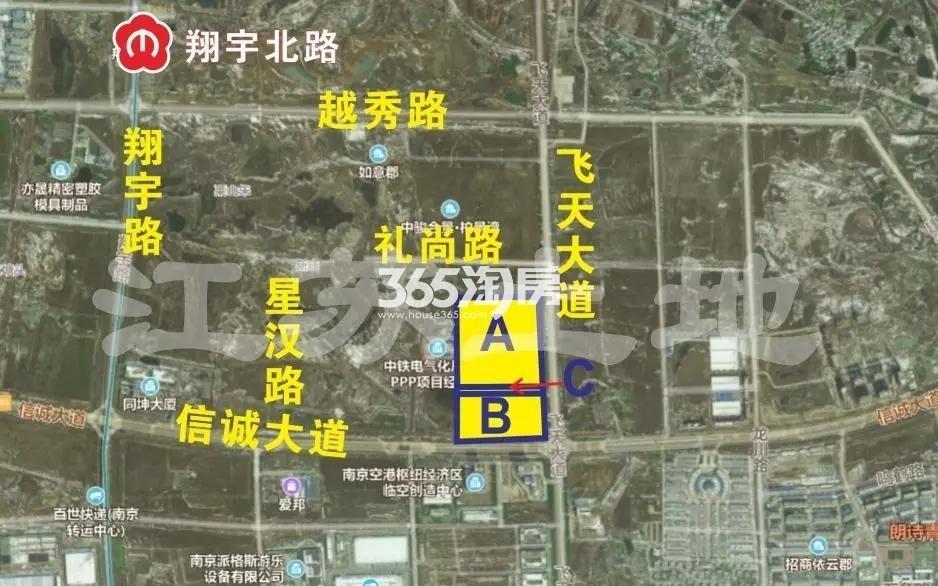 珠江·四季悦城交通图