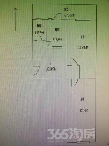 金平东里2室1厅1卫71平米简装使用权房1998年建满五年