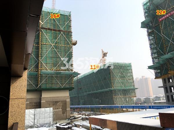 中锐星公元11#、12#、16#楼工程实景(2018.1摄)