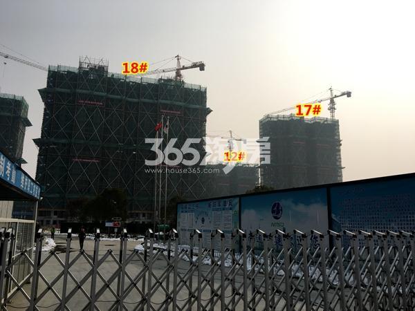 中锐星公元12#、17#、18#楼工程实景(2018.1摄)