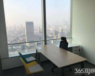 市中心中山路地铁口小面积办公室95精装出租