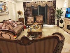 万达公馆4室2厅2卫200平米豪华装整租