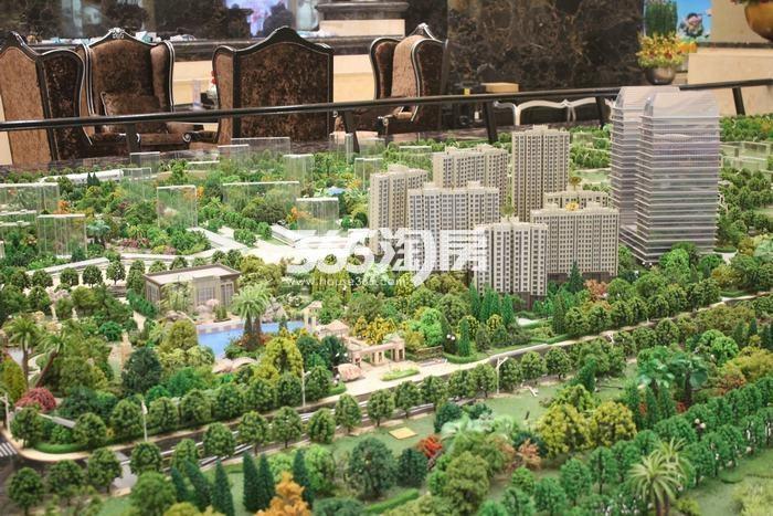 德杰国际城项一期沙盘实景(2017.9.5)