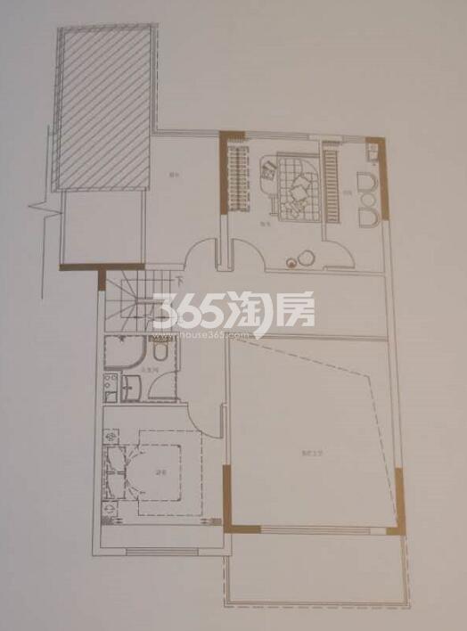 碧桂园国湖五室两厅188.64㎡上叠6层户型图