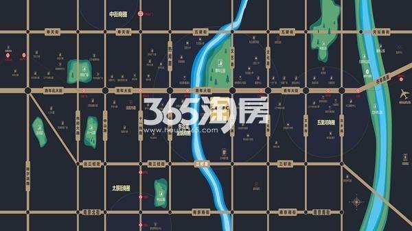 宝能GFC交通图