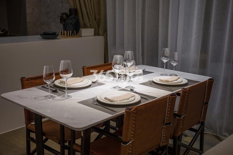 阳光100喜马拉雅D户型样板间-餐厅