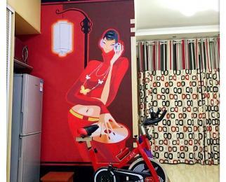 创景花园1室1厅1卫60㎡整租豪华装