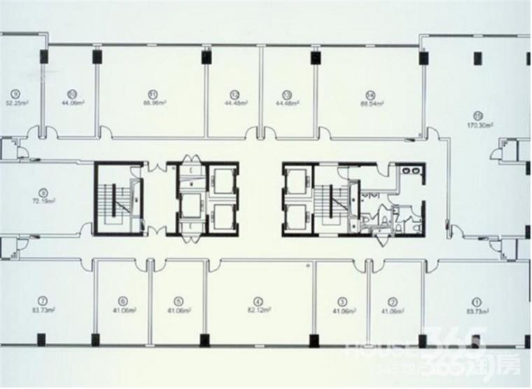 新地中心超5a写字楼地铁口精装修 奥体核心区域随时免费看房