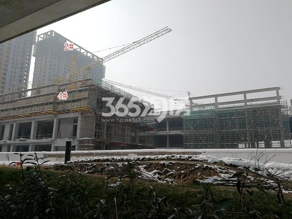 万荟城商业部分工程实景(2018.2)