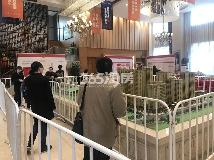 中电颐和府邸收资料现场实景图(12.20)