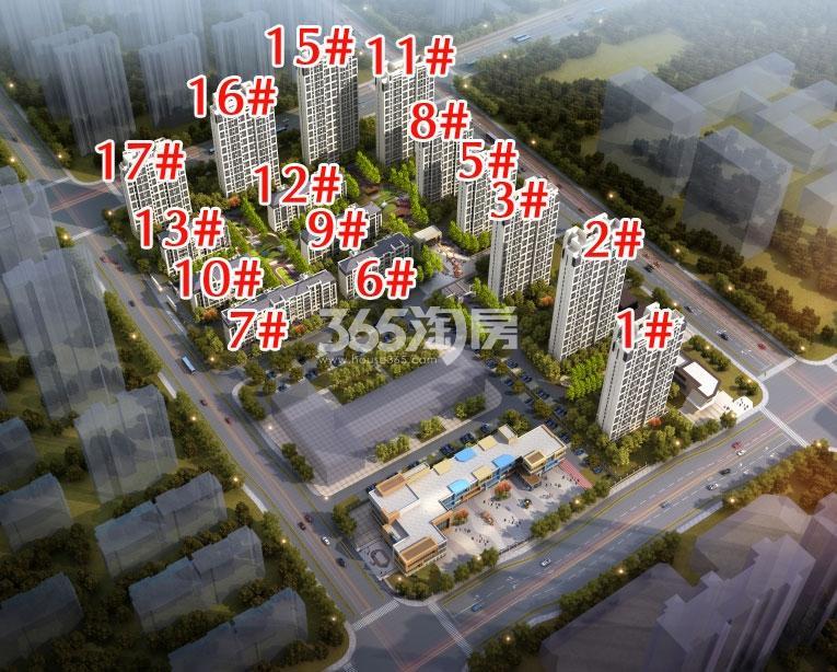 新城滨湖云境鸟瞰图