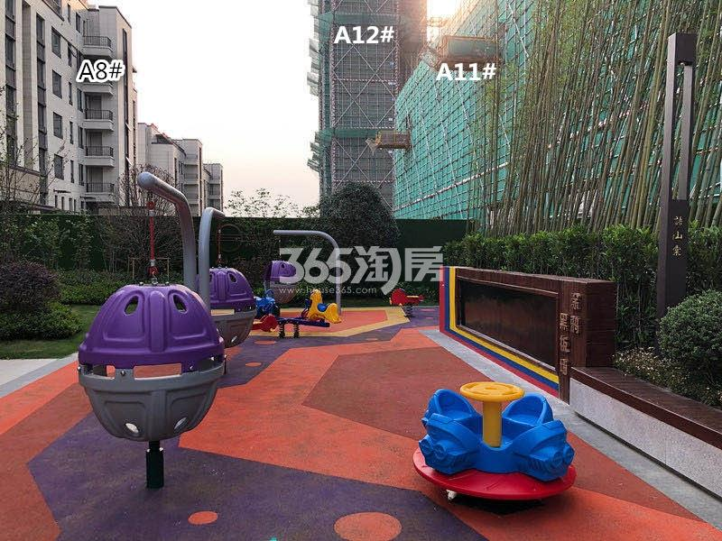 江山大境A地块8、11、12号楼实景图(12.30)