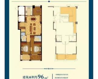 江阴临港香缇半岛 别墅级复式房 赠送多 得房率超高 学区房