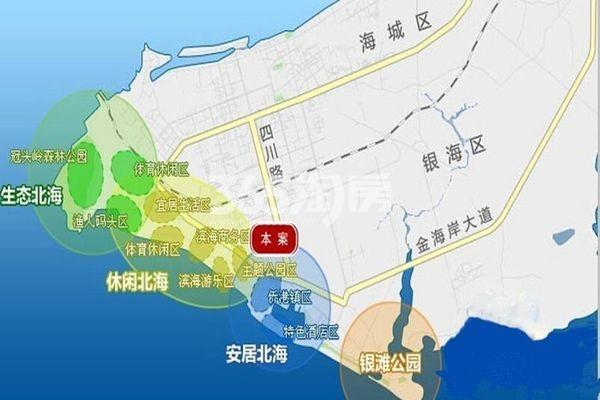 穗丰金湾交通图