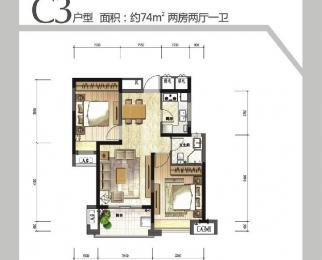 南二环优质绿地高层精装婚房 双南全明看房方便价格好!地铁口