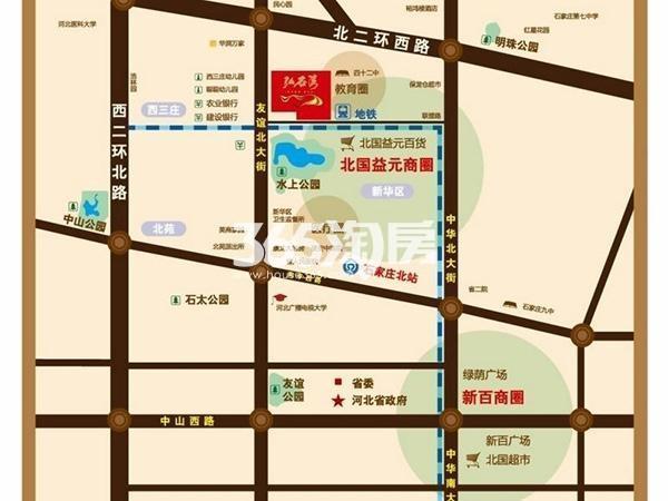 弘石湾交通图