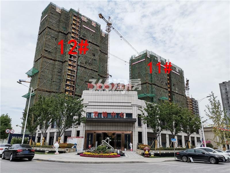 珍宝岛熙悦府在建11、12#楼实景图(5.30)