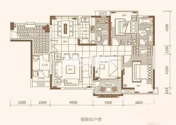 21°公馆三期别墅式公馆D户型