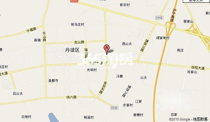 天盛广场交通图
