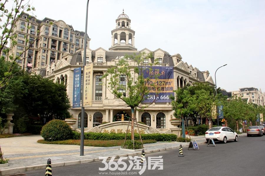 新华联铂悦营销中心实景图(2018.8摄)