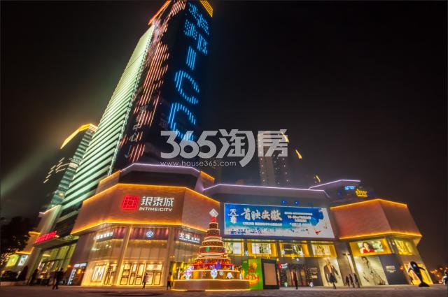 华邦ICC银泰购物中心外夜景(2018.2.5)