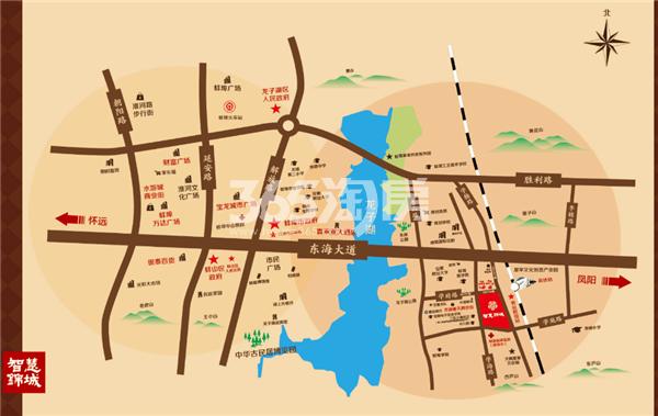 智慧锦城交通图