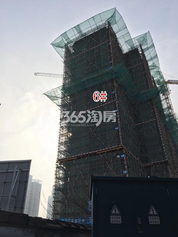 融侨悦府6#楼高层实景图(2018.4 摄)