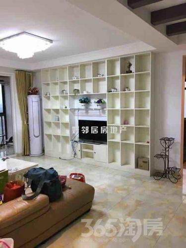 仙林悦城4室2厅1卫113平米豪华装产权房2015年建满五年