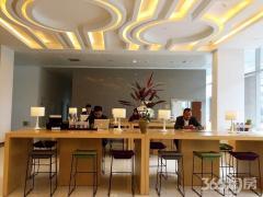 河西5A江景办公 精装修 免费配套健身休闲区 咖啡接待区
