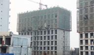 润华金地广场11月工程进度:降的是温度 不降的是速度