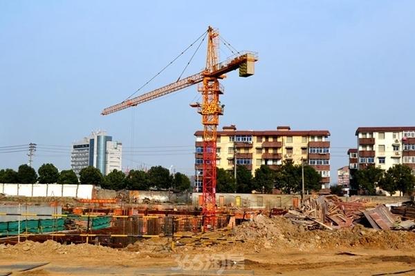东方蓝海工程进度(2016年12月摄)