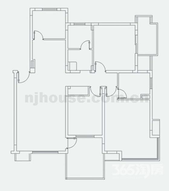 急售龙池翠洲3室2厅2卫122平米毛坯