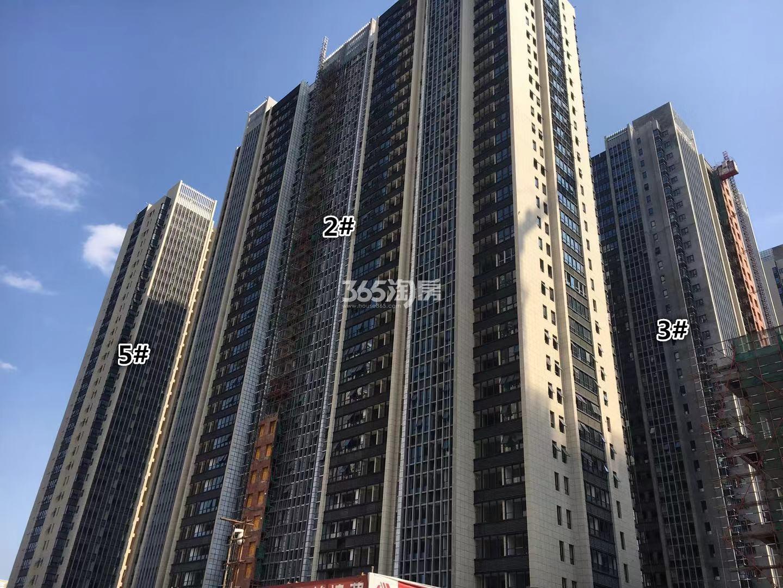 明发财富中心2、3、5号楼实景图(10.18)