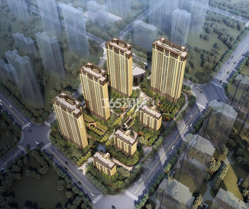 新乡佳兆业·悦峰鸟瞰图
