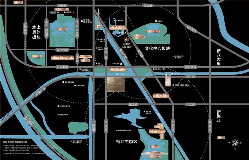 融创梅江壹号院交通图