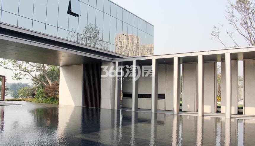 绿都云和湖售楼处实景图(2017.11)