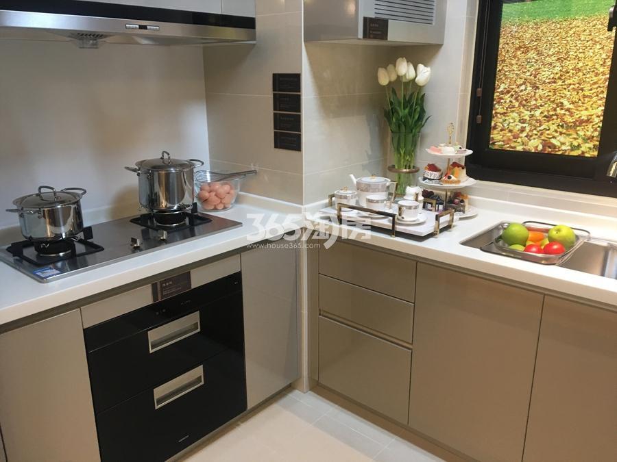 新城香悦公馆A4户型138方样板房——厨房