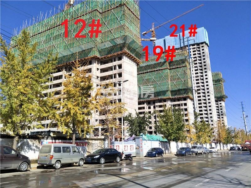 万科新都会12、19、21#楼施工实景图(10.19)