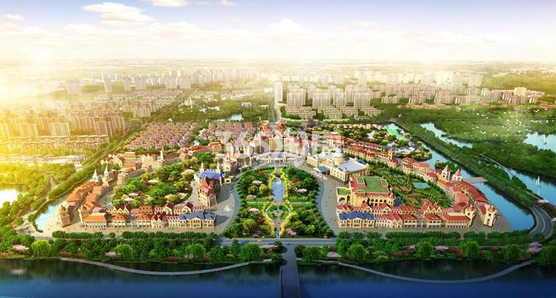 恒大潘安湖生态小镇效果图9