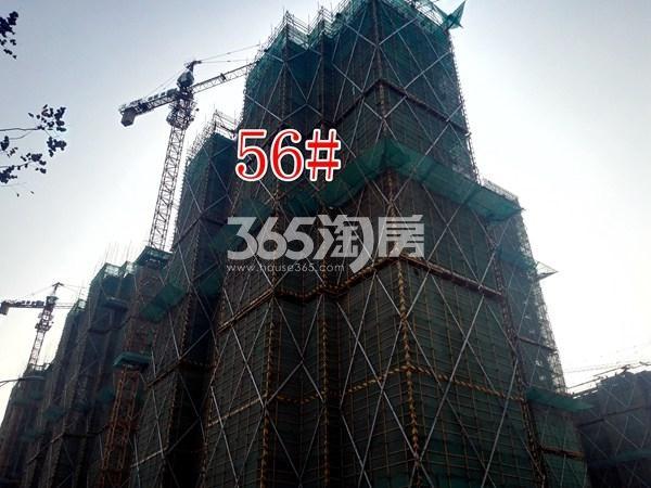 绿地工润和平壹号四期56#工地实景图(11.15)