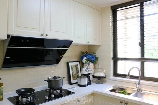 伟星金悦府公园洋房109平样板房——厨房
