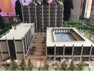 绿城柳岸春风loft住宅式公寓,买一层送一层。大阳台