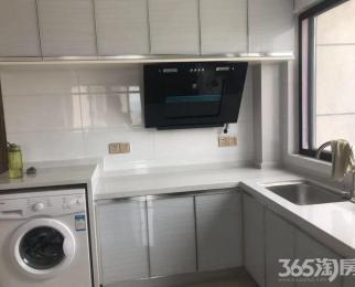 海赋公寓 精装修 上下两层 两室一厅 边户全明户型 有钥匙