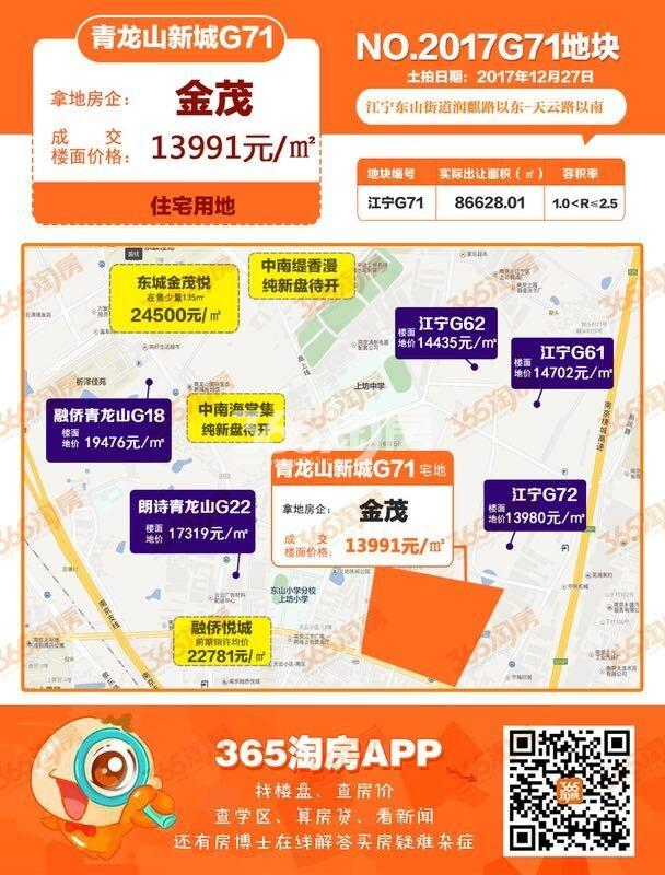 江宁金茂悦交通图