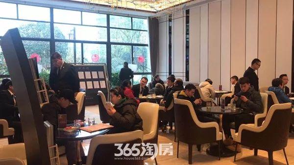碧桂园塘溪源著新春看房实景图(2018.2摄)